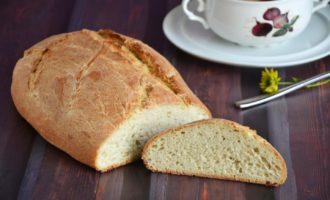 Домашний бездрожжевой хлеб в мультиварке
