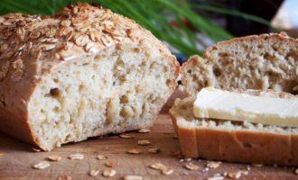 Овсяный хлеб в мультиварке