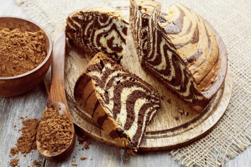 Пирог Зебра в мультиварке рецепты