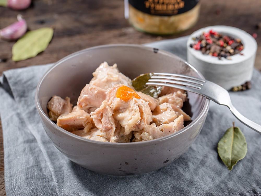 Тушенка из курицы в мультиварке рецепт